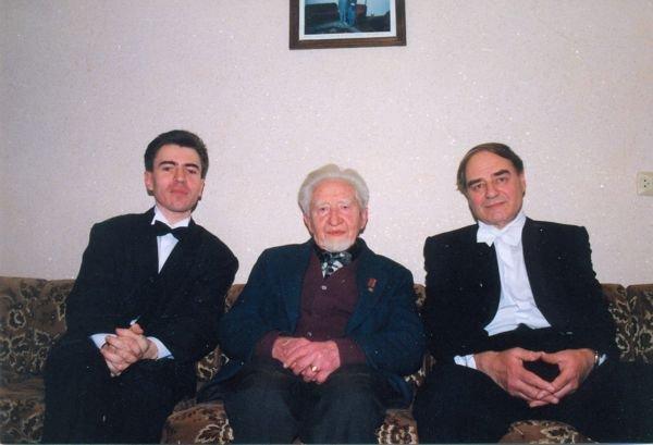 З М.Колессою та О.Козаренком